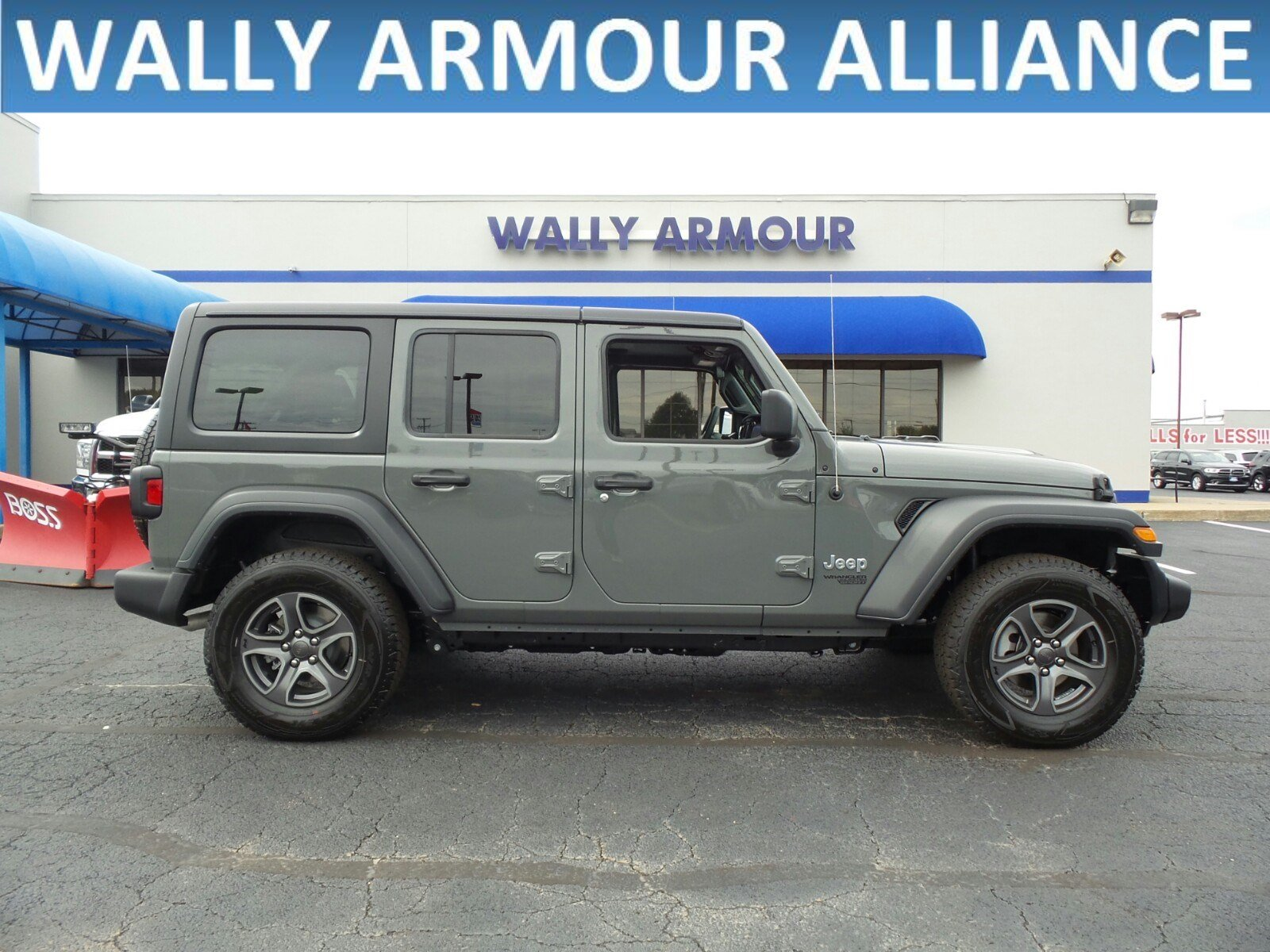 New 2018 JEEP Wrangler Sport S Sport Utility in Alliance CC1635