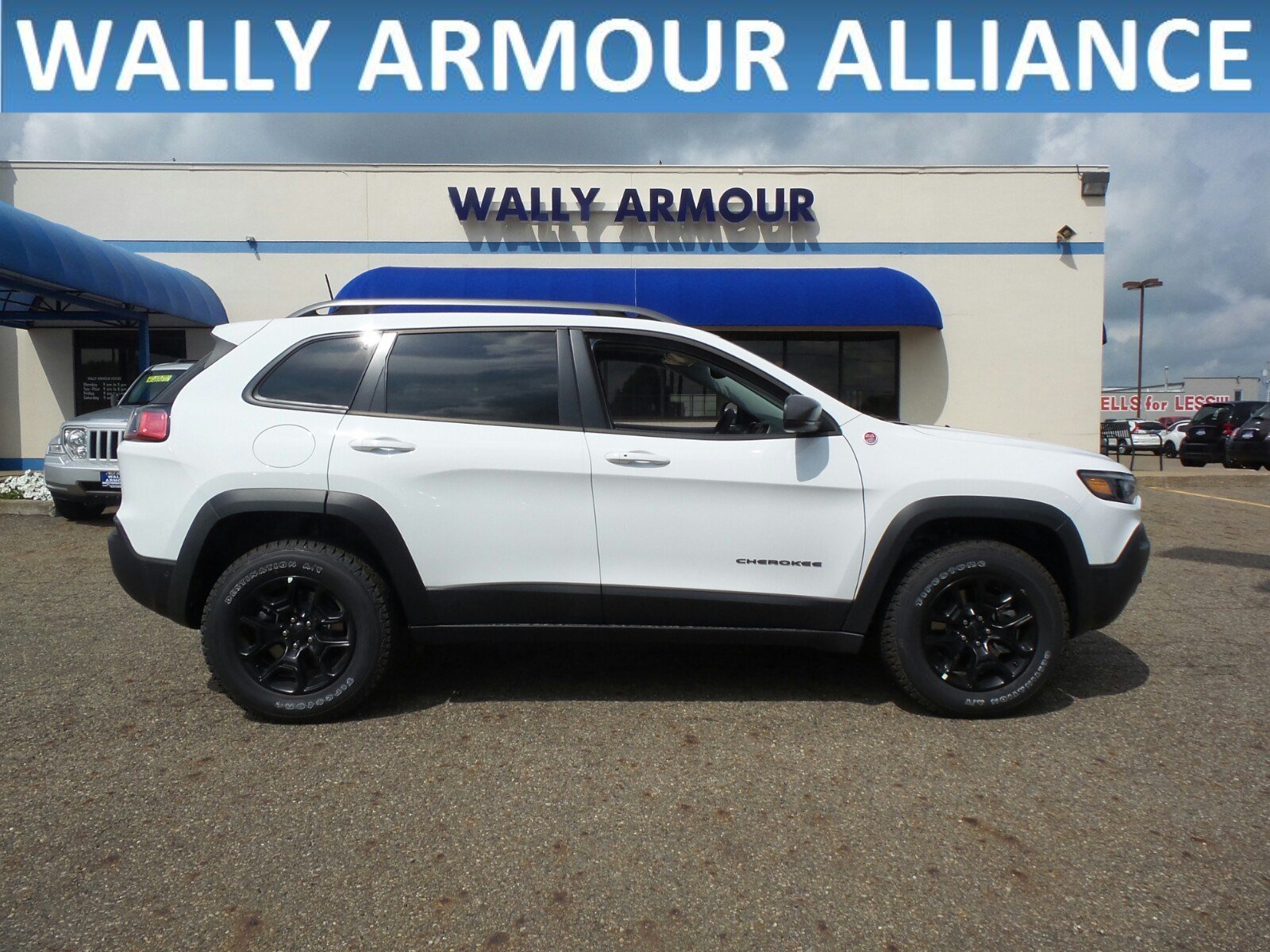 New 2019 JEEP Cherokee Trailhawk Elite Sport Utility in Alliance