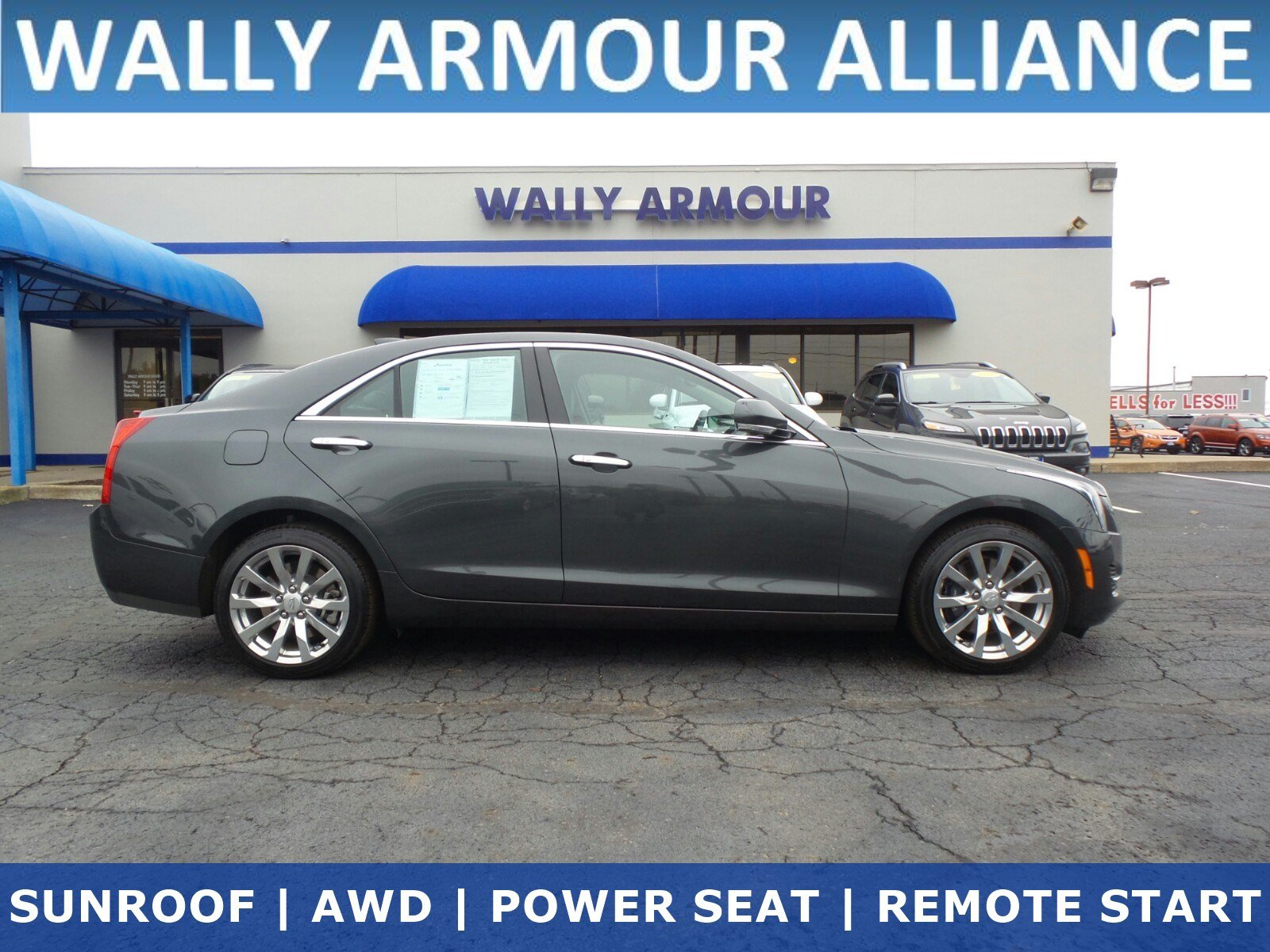 Pre Owned 2018 Cadillac Ats Sedan Luxury Awd 4dr Car In Alliance