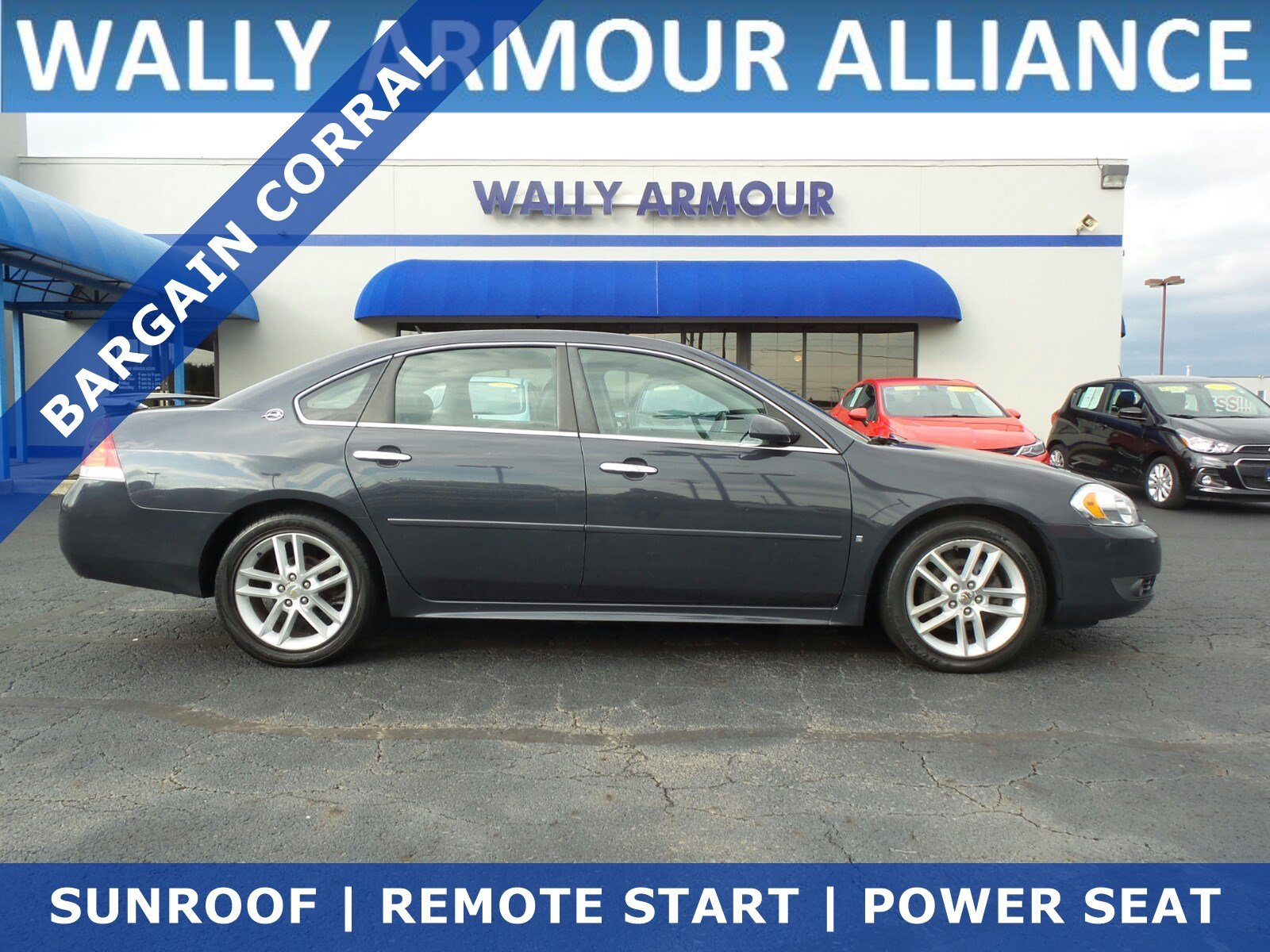Pre Owned 2009 Chevrolet Impala LTZ 4dr Car in Alliance RR1223A
