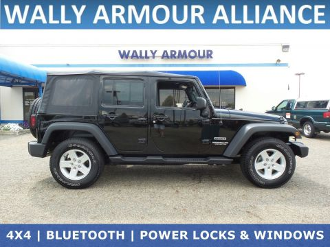 Marvelous Pre Owned 2017 Jeep Wrangler Unlimited Sport