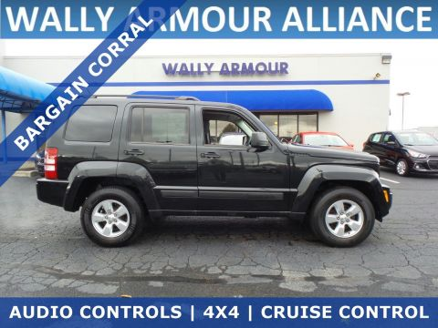 PRE-OWNED 2012 JEEP LIBERTY SPORT 4WD