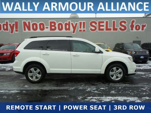 PRE-OWNED 2012 DODGE JOURNEY SXT FWD STATION WAGON
